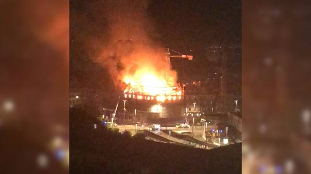 Grossbrand am HB: DataQuest-Haus einsturzgefährdet