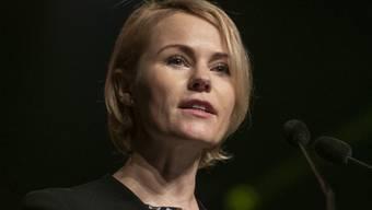 Natalie Rickli (SVP) will neu in den Zürcher Regierungsrat gewählt werden.