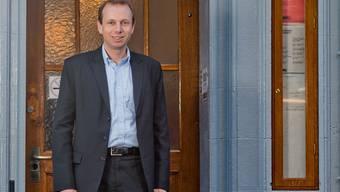 Michael Ganz vor seinem Boiler Club in der Rathausgasse. Diesenwürde er von den USA aus weiterführen.Emanuel Freudiger