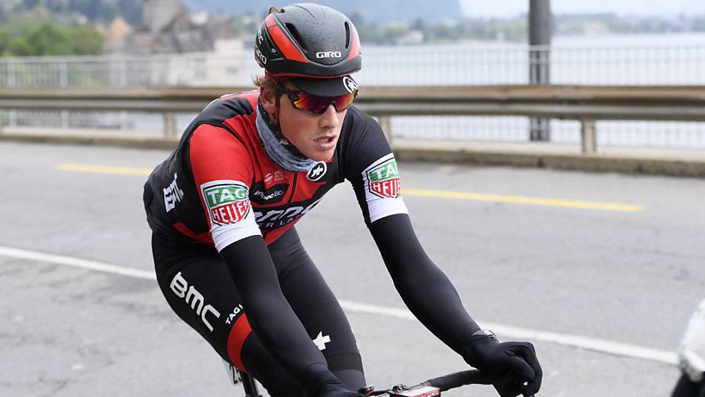 Stefan Küng brach sich bei seinem Sturz beim Rad-Klassiker Paris-Roubaix den Unterkiefer