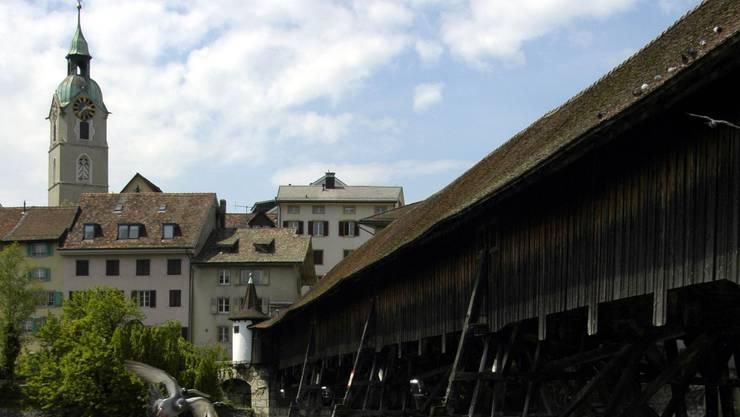 Holzbrücke Olten. (Archiv)