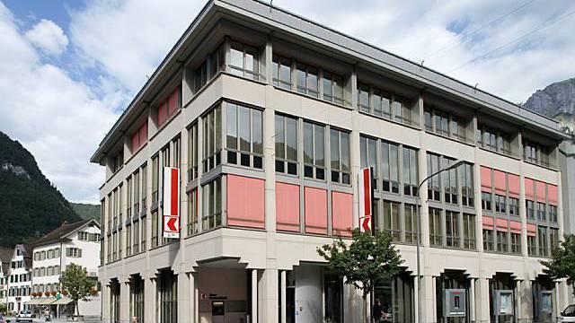 Filiale der Glarner Kantonalbank in Glarus (Archiv)