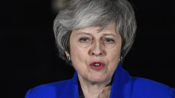 Die britische Premierministerin Theresa May kommt wegen der Brexit-Krise nicht ans WEF in Davos. (Archiv)