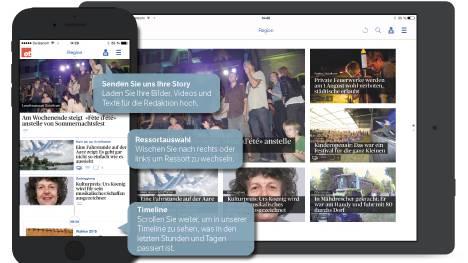 Die neue OT-App fürs Smartphone und Tablet.