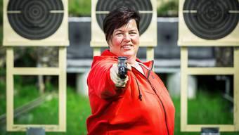 «Ja, ich setze meine Karriere fort.» Heidi Diethelm Gerber, Olympia-Dritte mit der Sportpistole, setzt den Spekulationen um ihre Zukunft ein Ende.