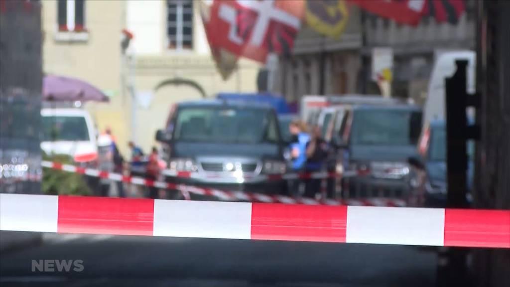 Grosseinsatz in Bern: Berner Innenstadt teilweise abgeriegelt