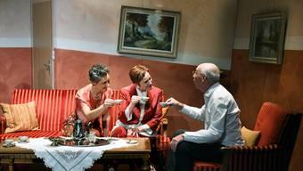 Trix Hasler, Susanne Ohlwein und René Stocker (v.l.).