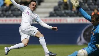 Josip Drmic schiesst in Zukunft für den FC Nürnberg die Tore.