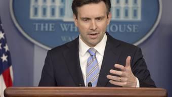 Josh Earnest bei der Pressekonferenz am Montag