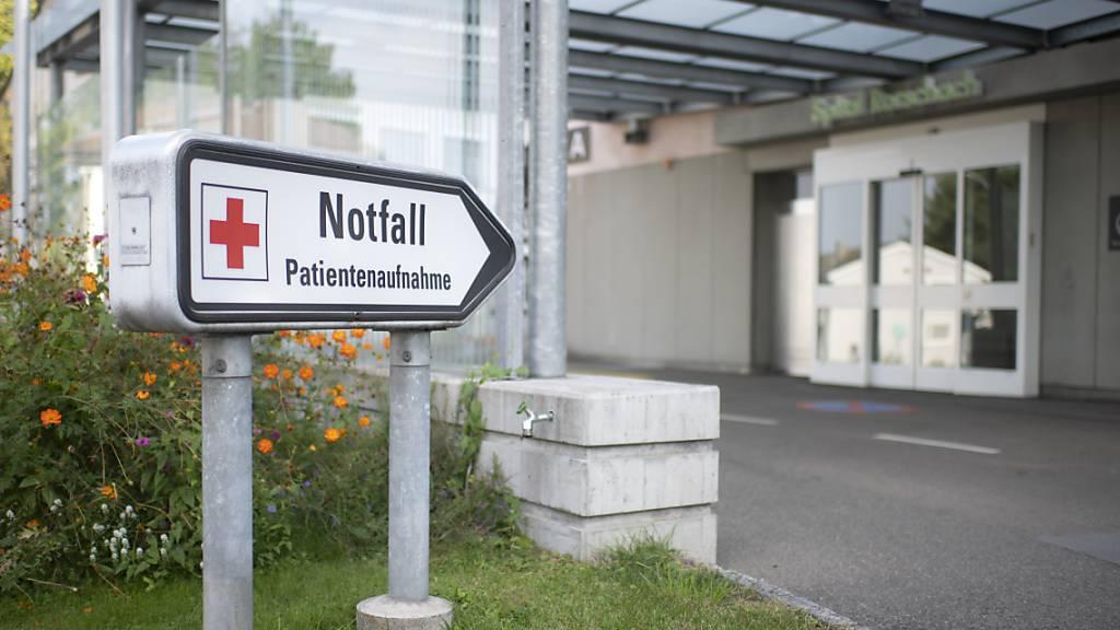 Ab Februar: Spital Rorschach wird zurückgestuft