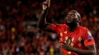 Romelu Lukaku qualifizierte sich mit Belgien souverän für die EM