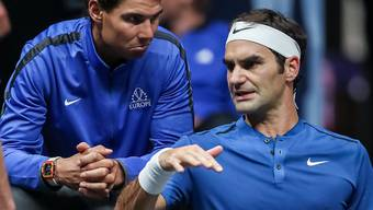 Rafael Nadal und Roger Federer – Eine Rivalität für die Ewigkeit.