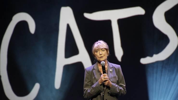 """Die britische Choreografin Gillian Lynne des Erfolgs-Musicals """"Cats"""" ist am 1. Juli 2018 in London im Alter von 92 Jahren gestorben. (Archiv)"""