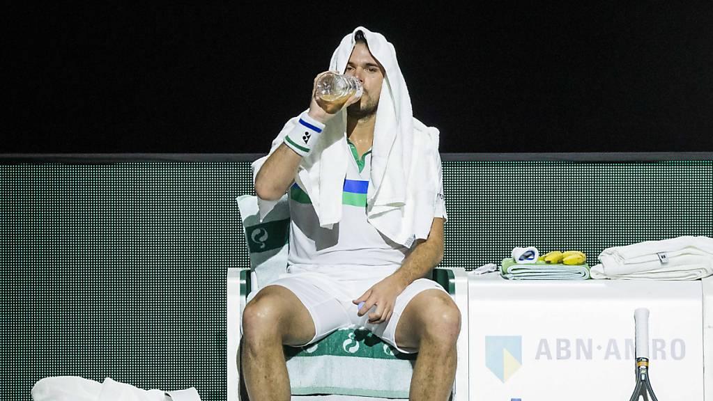 Weiterhin nicht auf dem Court: Wegen seiner Fussoperation kann Stan Wawrinka nicht am US Open teilnehmen