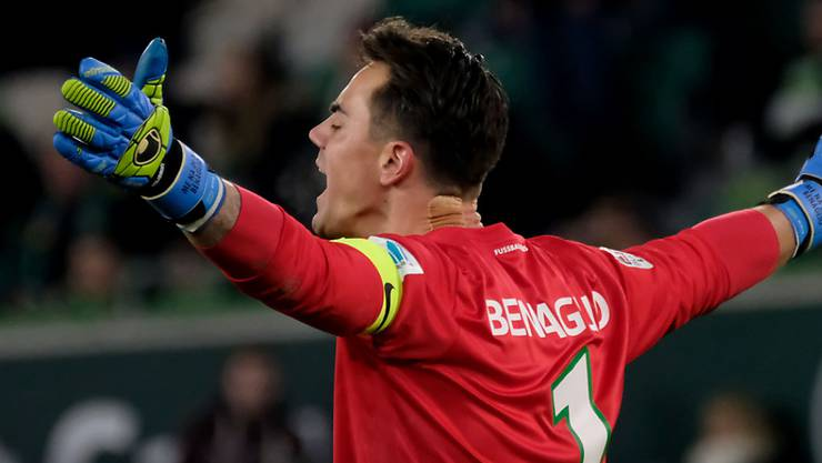 Diego Benaglio erlebt in Wolfsburg aufregende Wochen