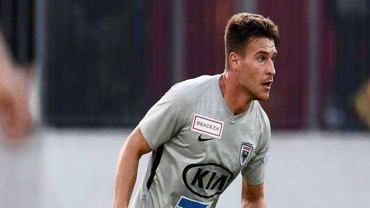 Giuseppe Leo kommt beim FC Aarau immer besser in Form.