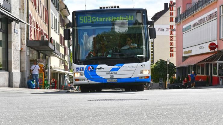 Von Ende Mai bis Ende August 2017 gibts keinen Busverkehr auf der Mühlegasse. Bruno Kissling