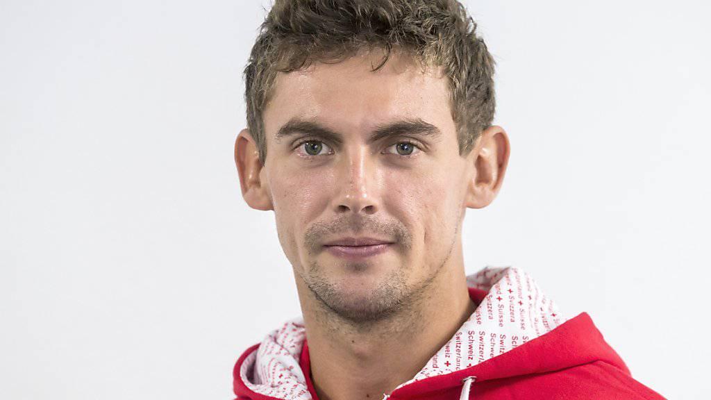 Henri Laaksonen eröffnet die Davis-Cup-Partie für die Schweiz gegen Weissrussland