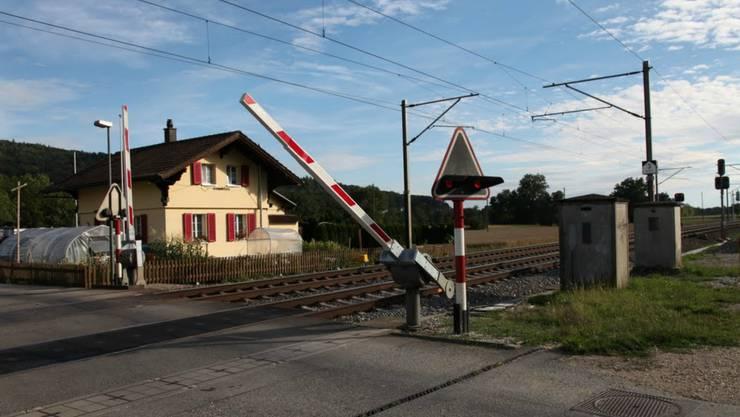 Dieser Bahnübergang wird abgeschafft.