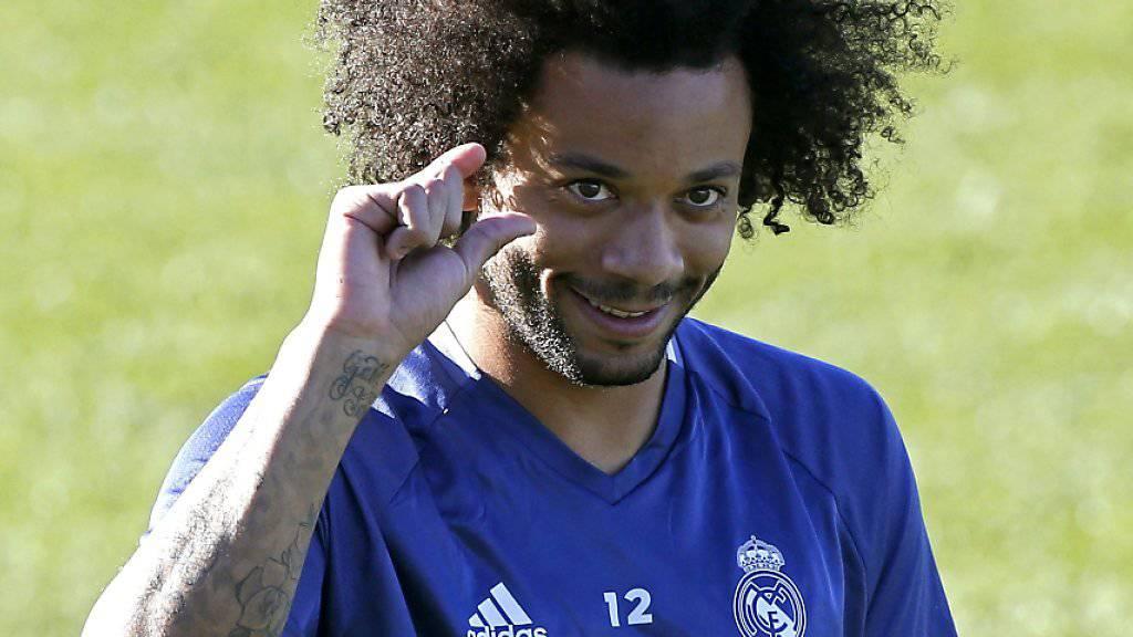 Marcelo zeigts im Training: Real Madrid fehlt nicht mehr viel zur längsten Serie der Ungeschlagenheit