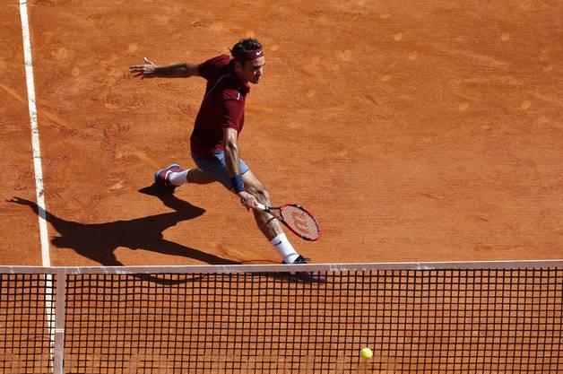 Federer scheitert in Monte Carlo an Tsonga.