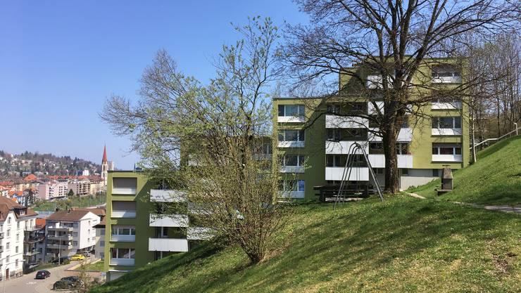 An der Ruhsitzstrasse 7-29 in St.Gallen wurde die tote Frau aufgefunden.