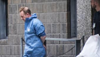 ARCHIV - Der dänische Erfinder Peter Madsen  während seines ersten Gerichtsverfahrens im Jahr 2017 in Kopenhagen. Foto: Meyer Kenneth/dpa