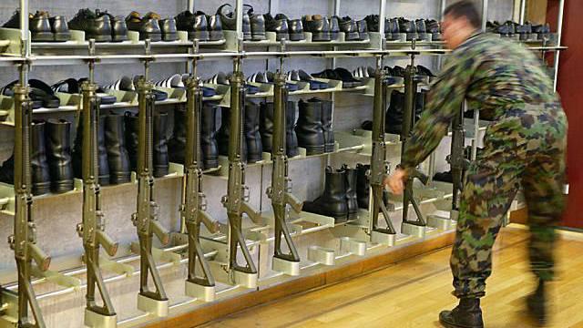 Künftig ins Zeughaus: Ordonnanzwaffen