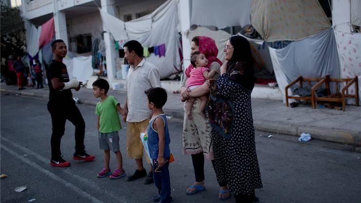 Afghanische Flüchtlinge in Athen: Rund 80'000 Asylsuchende müssen Europa verlassen.