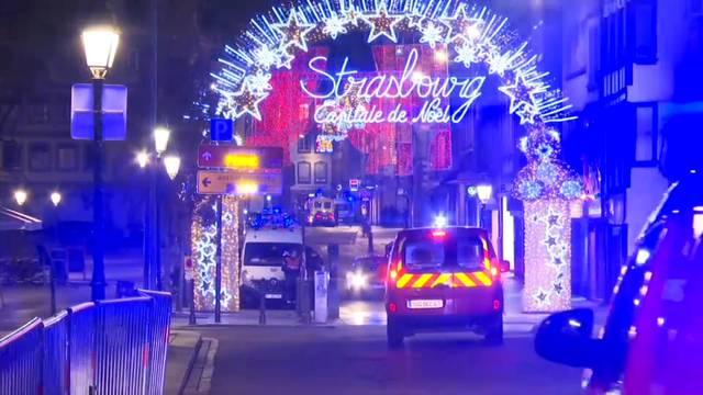 Terror in Strassburg: drei Tote – Polizei jagt Attentäter