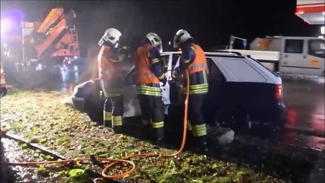Rettungsübung 2018 der Feuerwehr Grenchen