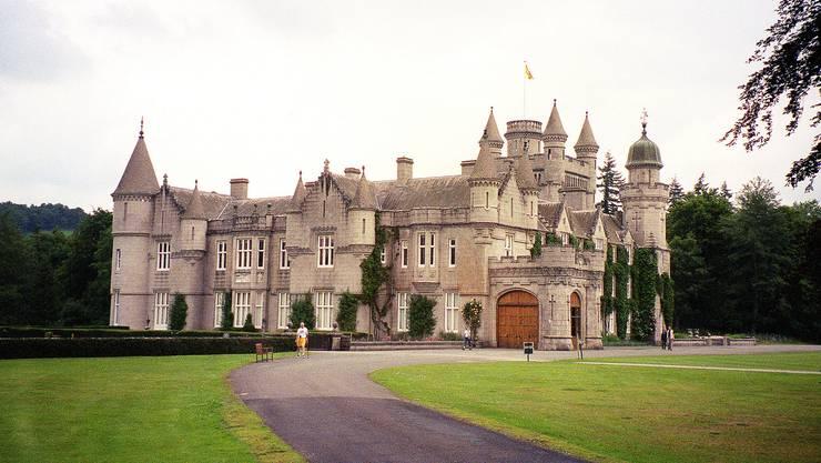 <p>Balmoral Castle in Grossbritannien</p>