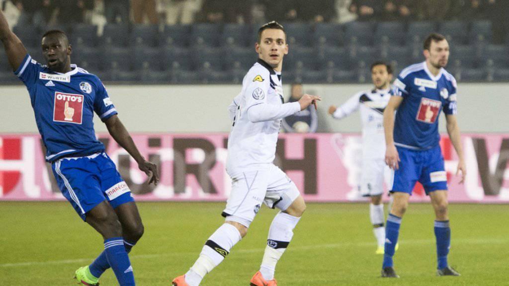Anastasios Donis war der Matchwinner in Luzern