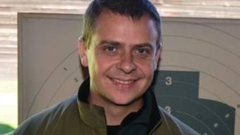 Treffsicherer Regionalpolizist: Andreas Hunziker ist Schweizermeister im Pistolenschiessen.