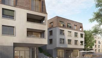 Spatenstich Zentrumsüberbauung Oberdorf Stetten