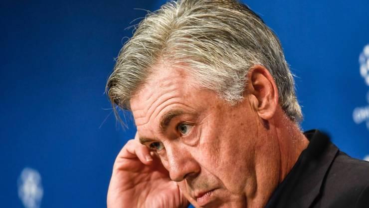 Carlo Ancelotti am Grübeln: Soll er Italiens Nationalcoach werden?