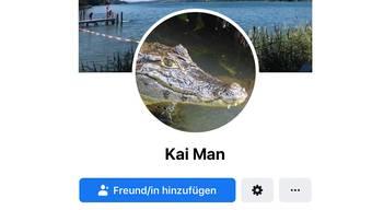 Der Kaiman hat jetzt ein Facebook-Profil