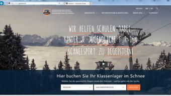 Auf der Website gosnow.ch können Lehrpersonen mit drei Klicks ein komplettes Schneesportlager buchen.