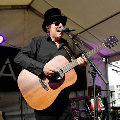 Singer und Songwriter «Pink Pedrazzi» hatte bei seinem Auftritt im Lindenberg ein Heimspiel – er ist Basler.