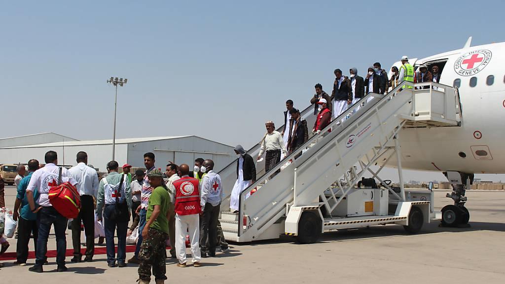 Gefangenenaustausch im Jemen abgeschlossen – 1'056 freigelassen