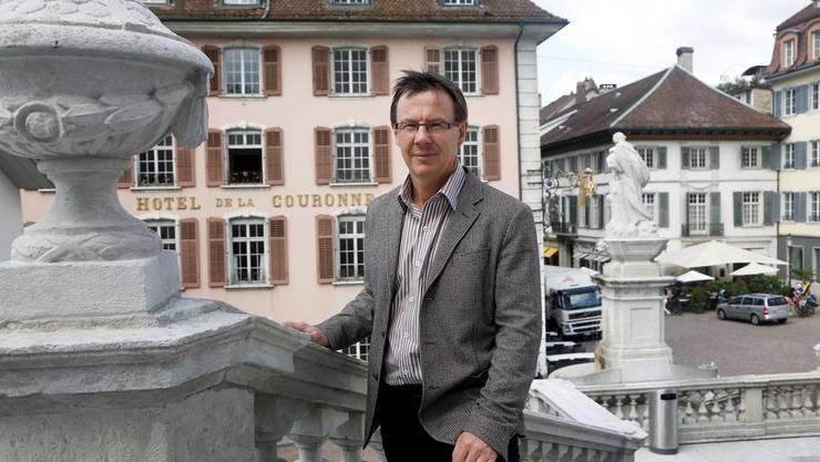 Die bevorstehende Renovation des Solothurner Hotels Krone erschliesst laut Jürgen Hofer ein grosses Potenzial.