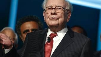 Stürme und Erdbeben belasten Star-Investor Warren Buffett. (Archivbild)