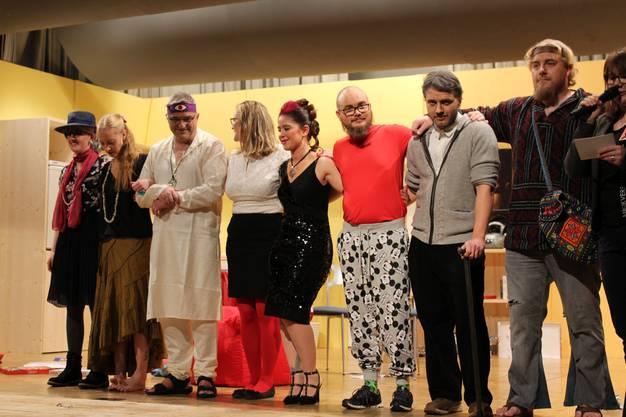 Die Theatergruppe Herbetswil