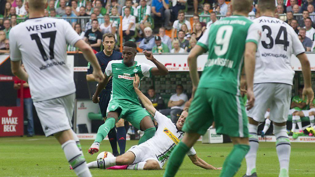 Muss pausieren: Werder Bremens Schweizer Ulisses Garcia (Archivbild)