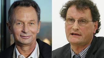 Philipp Müller (links) und Geri Müller sind die Aargauer Panaschierkönige