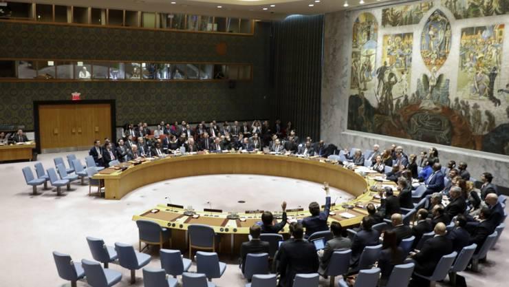 Der Uno-Sicherheitsrat hat im Hinblick auf das Treffen von US-Präsident Donald Trump und Nordkoreas Machthaber Kim  Jong Un in Vietnam von kommender Woche Reiseverbote mehrerer nordkoreanischer Regierungsvertreter aufgehoben. (Archivbild)