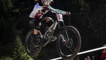Eine Saison Anlaufzeit genügten: Camille Balanche hat in kurzer Zeit zu den besten Downhillerinnen aufgeschlossen