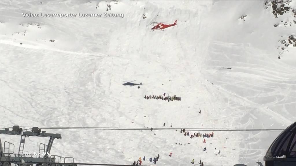 Lawine in Andermatt: 6 Personen auf Skipiste verschüttet