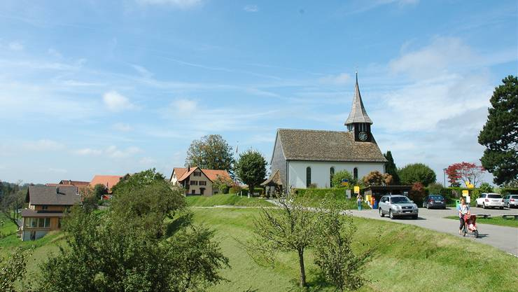 Sternenberg, höchstgelegene Gemeinde im Kanton Zürich (900 Meter über dem Meer), fusioniert 2015 mit Bauma.