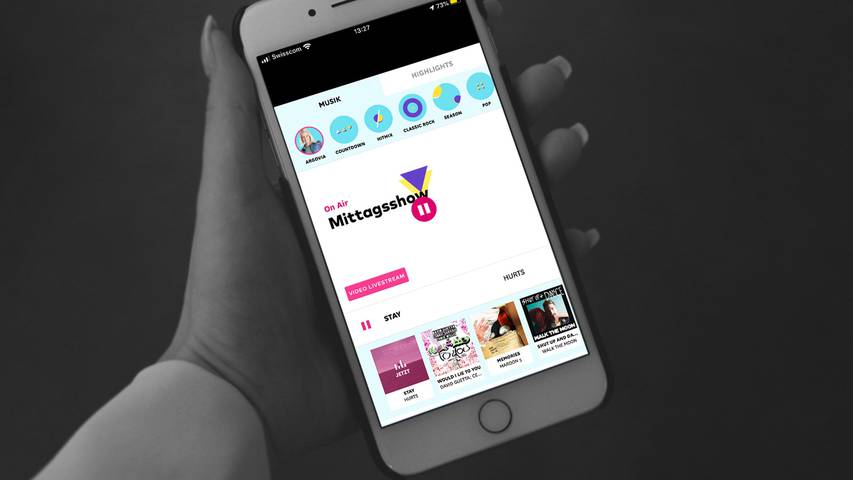 Lade die Argovia App auf dein Handy